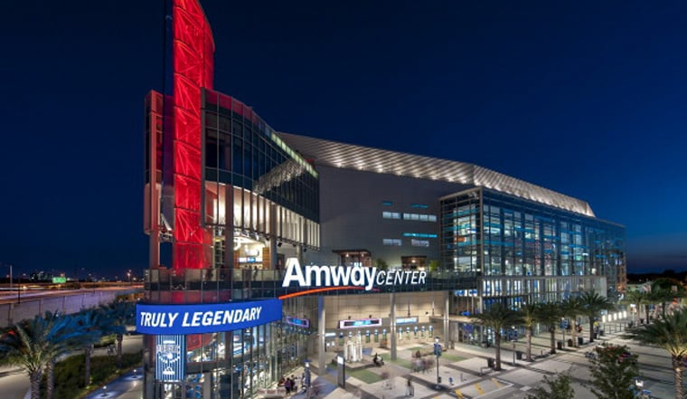 Amway Center Wins 2017 Venue Excellence Award