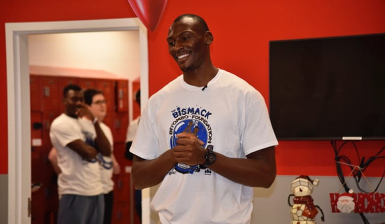 Bismack Biyombo Takes Kids on Holiday Shopping Spree | Orlando Magic