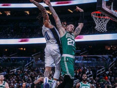 Photos of the Night: Magic vs. Celtics