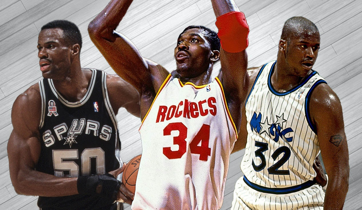 Basketball Players: Ranking NBA's Best Centers Of The 90s