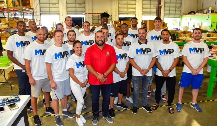 Frank Vogel Magic Players Prepare Disaster Relief Kits for Those Impacted by Hurricane Harvey