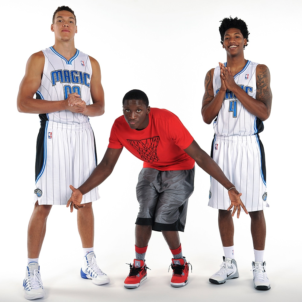 Gordon Payton And Marbles First Day With The Magic Orlando Magic