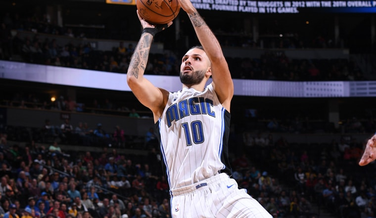 Evan Fournier on Pace to Join Exclusive Company