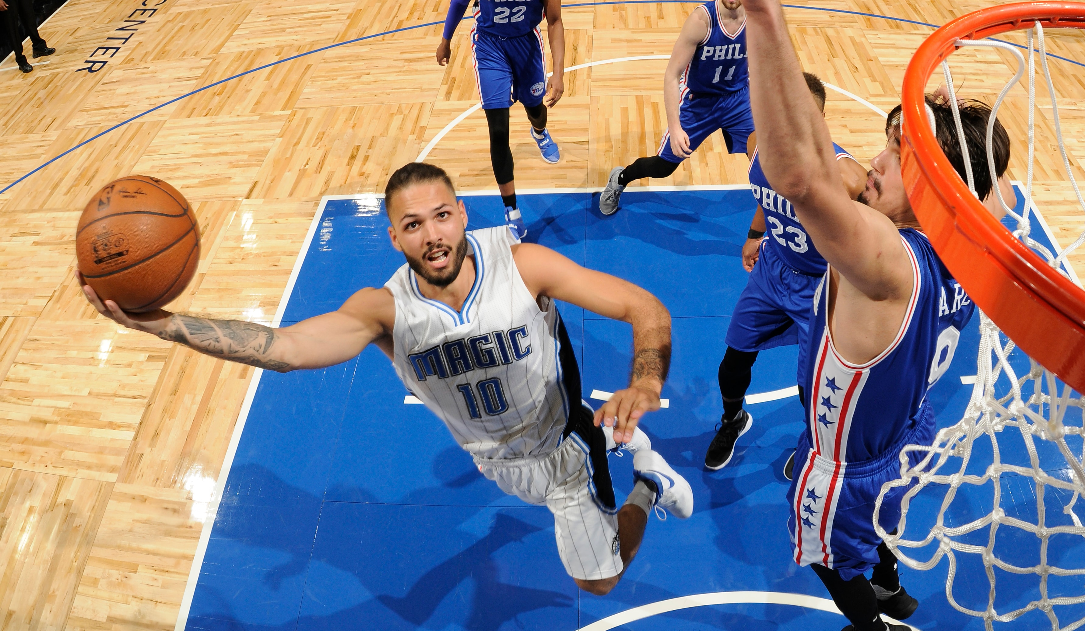 2016 17 Magic Player Review Evan Fournier Orlando Magic