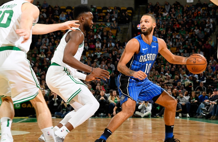 Magic's Ball Movement Excellent Against Celtics