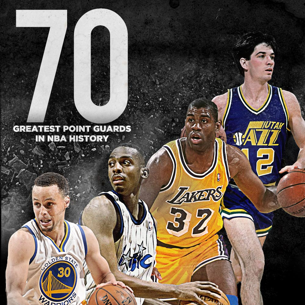 the greatest guard player in nba history Ranking the 25 greatest players in nba history  leading the cavs back from a 3-1 deficit cemented lebron's status as the second-best player in nba history no one has ever come close to .