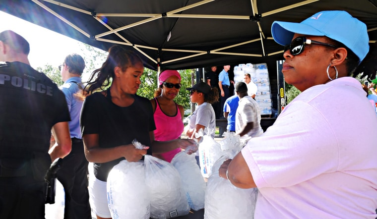 Orlando Comes Together to Lift People's Spirits After Hurricane Irma