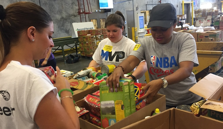 Orlando Magic Continue to Assist in Aftermath of Hurricane Irma