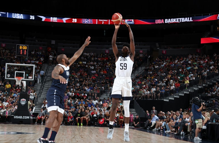 5 Standout Plays From Jonathan Isaac in Team USA Exhibition
