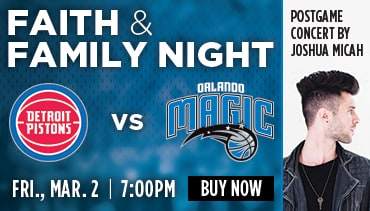 Faith and Family Night Orlando Magic