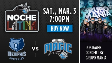 Noche Latina Orlando Magic