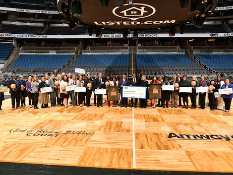 Orlando Magic Youth Foundation Distributes $1+ Million to 16 Central Florida Organizations