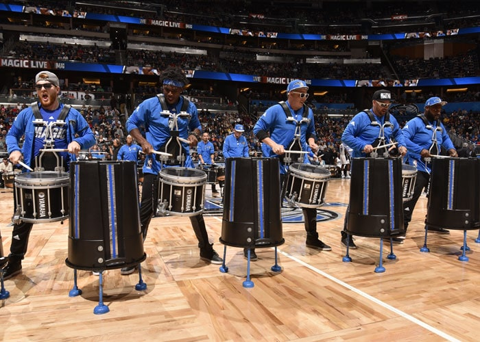 Orlando Magic Rhythm in Blue Drumline