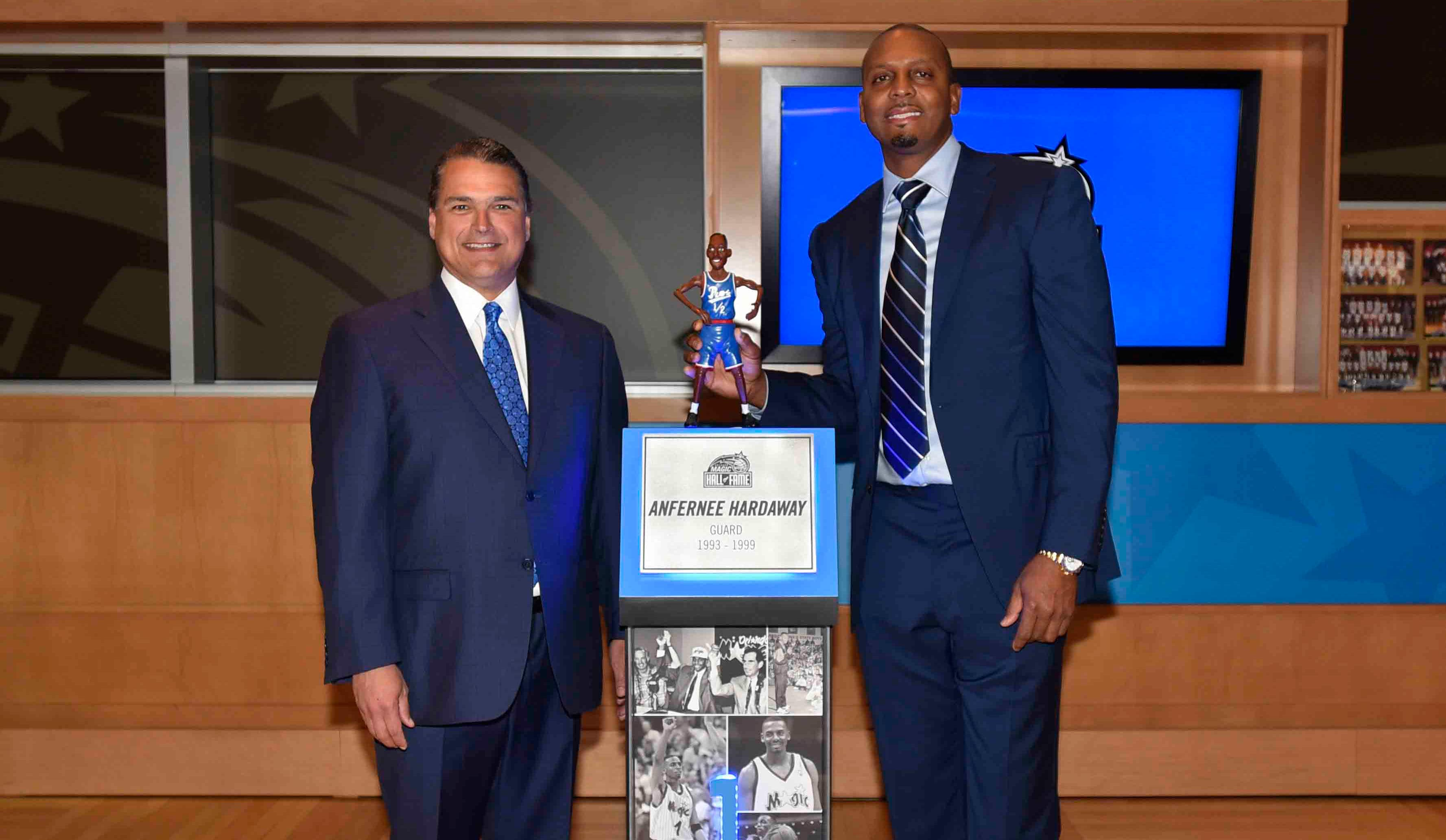 Penny Hardaway Inducted Into Magic Hall of Fame