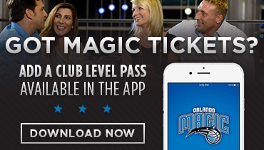 Orlando Magic App Club Level Pass