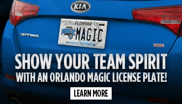 Orlando Magic License Plater