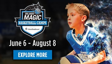 Orlando Magic basketball summer camps