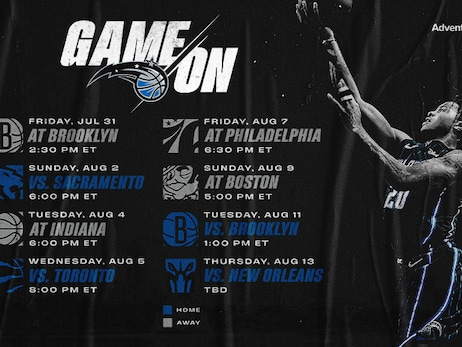 Orlando Magic 2019-20 Regular Season Restart Schedule Announced