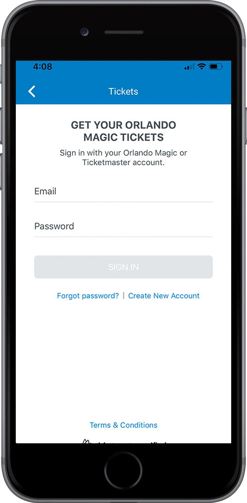Log In To Your Orlando Magic Account