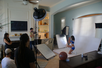 Behind the scenes: 08-09 Dancers Photoshoot 1
