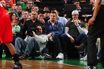 NFL Players & Coaches at NBA Games - 2