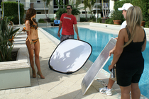 Swimwear Photo Shoot: Behind the Scenes 7