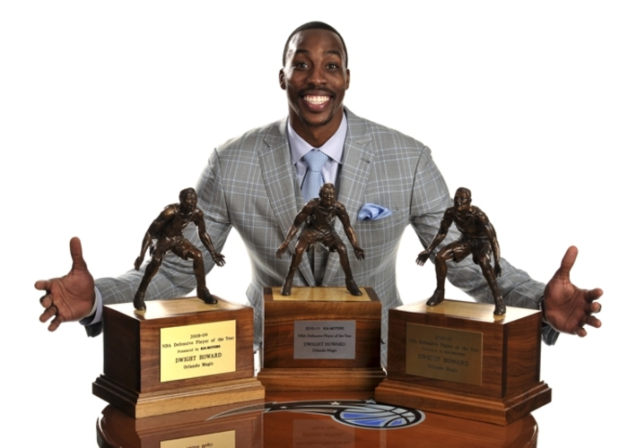 2011 Dwight Howard Captured His Third Straight NBA Defensive Player Of The Year Award With 114