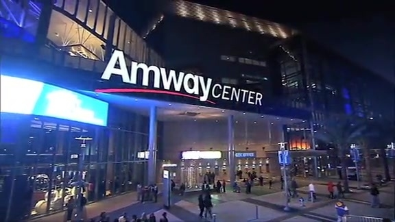 Amway Center Opens