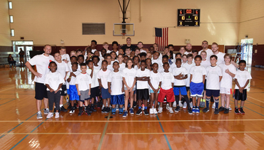 Aaron Gordon Held Basketball Camp for Local Youth