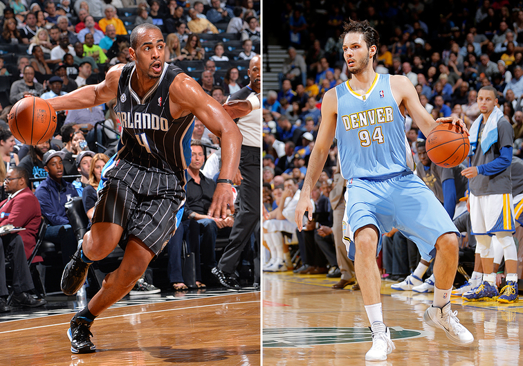 Afflalo and Fournier