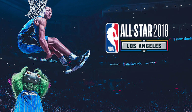 Aaron Gordon leads field for 2018 NBA Slam Dunk contest