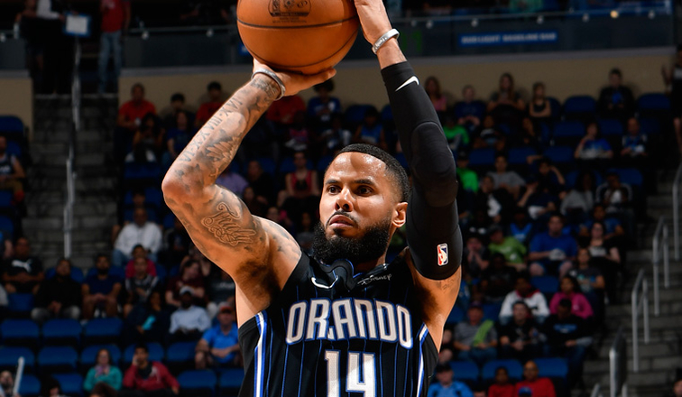 D.J. Augustin Among League Leaders in 3-Point Percentage ...