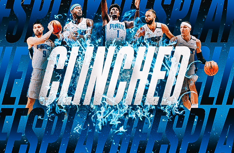 Magic Clinch Playoff Berth With Win Over Celtics       Postgame Report Magic 116 Celtics 108