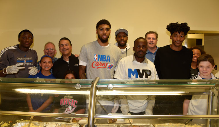 Orlando Magic Join the Coalition for the Homeless for the ...