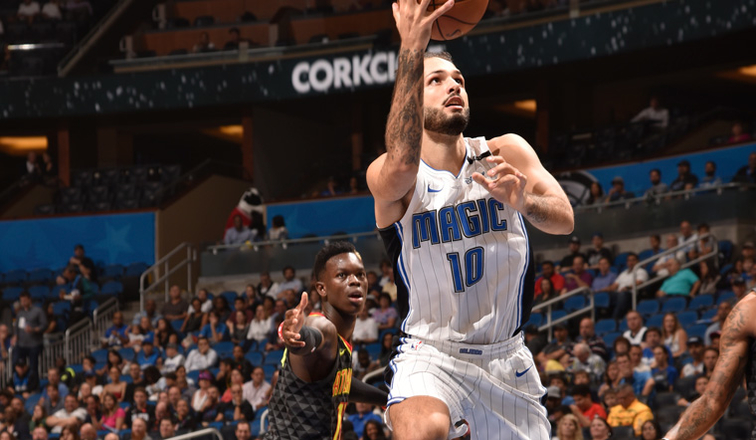 Magic will be without injured Fournier against Hawks