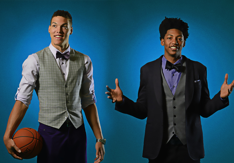 Aaron Gordon and Elfrid Payton