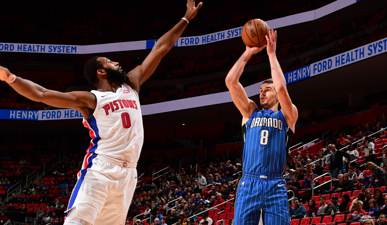 Magic at Pistons — Postgame Report