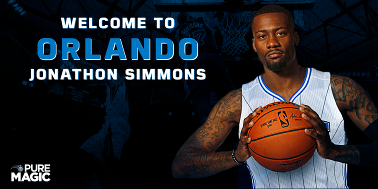 Jonathon Simmons signs with Magic for three years