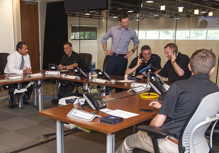 Magic Draft Room