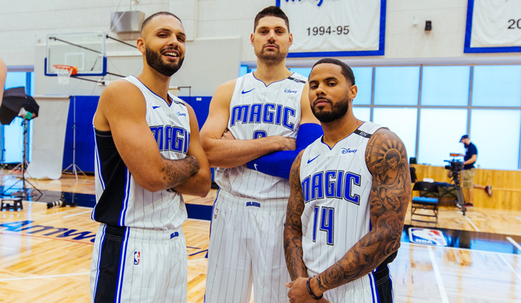 Magic Brimming with Confidence Heading Into Training Camp