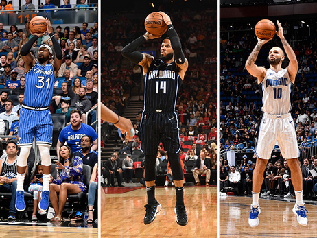 Ranking Magic's Top 10 3-Point Shooters for 2019-20 Season