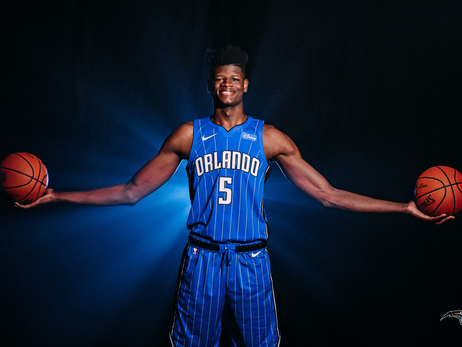 Mo Bamba's NBA Rookie Photo Shoot