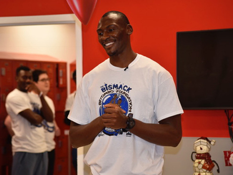 Bismack Biyombo Takes Kids on Holiday Shopping Spree