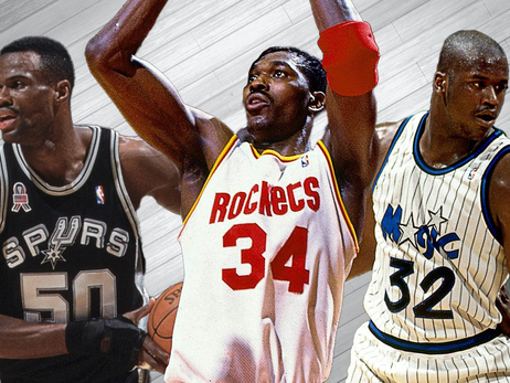 Ranking NBA's Best Centers of the 90s