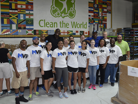 Orlando Magic Help 'Clean the World' and Save Lives