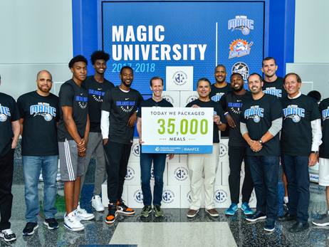 Entire Orlando Magic, Lakeland Magic and Solar Bears Staffs Continue Hurricane Irma Relief Efforts
