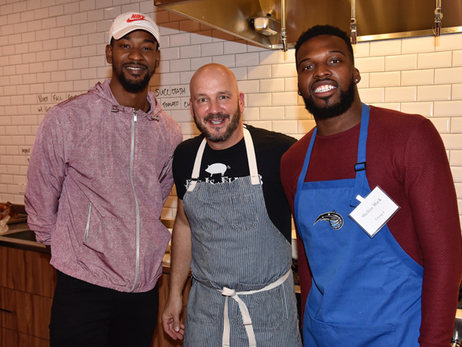 Terrence Ross, Shelvin Mack Help Cook Meals for Ronald McDonald House