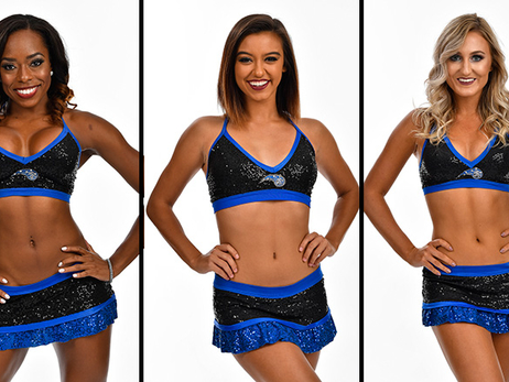 2017-18 Orlando Magic Dancers Costume Portraits