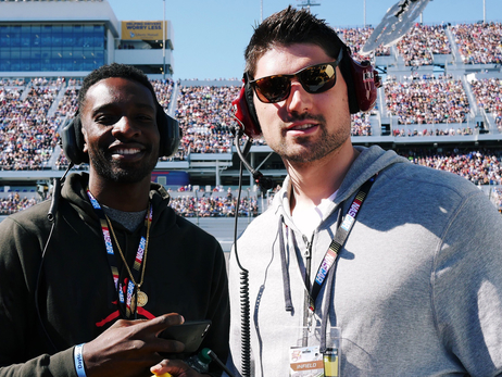Nikola Vucevic, Jeff Green Help Support Racers at Daytona 500