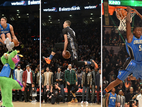 Ranking Best Slam Dunk Contest Images in NBA History